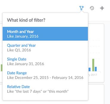 Add month filter