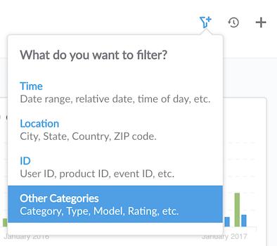 Category filter
